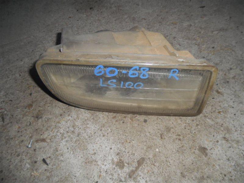 Туманка Toyota Land Cruiser HDJ100 правая (б/у)