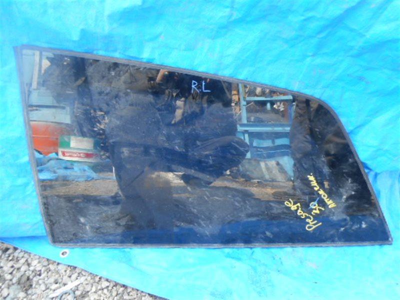 Стекло собачника Nissan Presage U31 заднее левое (б/у)