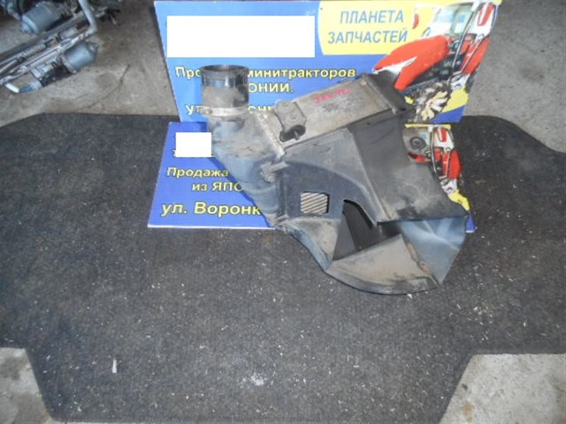 Радиатор интеркулера Toyota Cresta JZX90 1JZ-GTE (б/у)