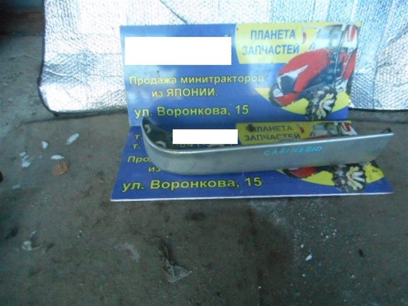 Накладка на бампер Toyota Carina ST210 задняя правая (б/у)