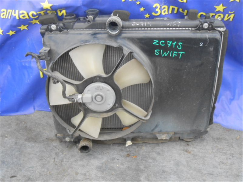 Радиатор основной Suzuki Swift ZC71S K12B (б/у)