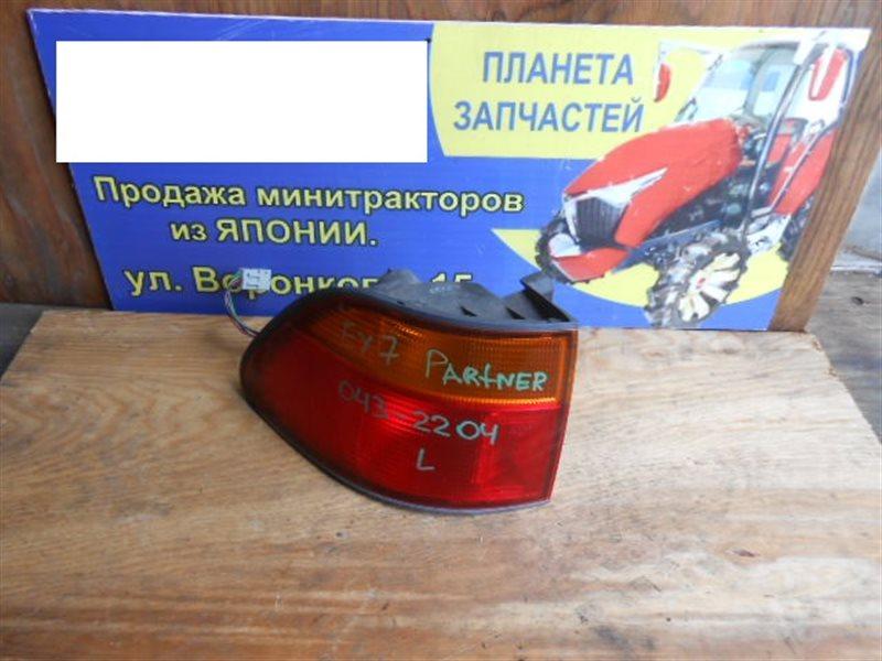 Стоп-сигнал Honda Partner EY7 задний левый (б/у)