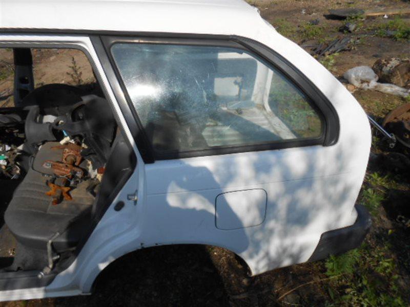 Стекло собачника Toyota Corolla AE100 5AFE заднее левое (б/у)