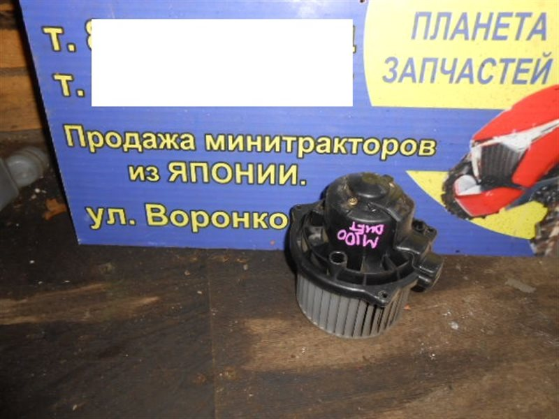 Мотор печки Toyota Duet M100A (б/у)