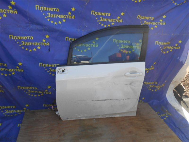 Стекло двери Toyota Ractis NCP120 переднее левое (б/у)