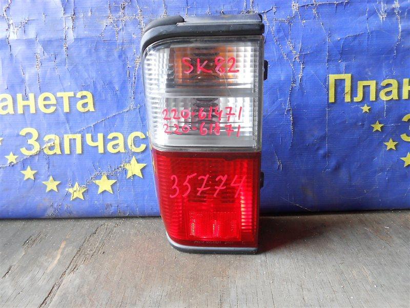 Стоп-сигнал Nissan Vanette SK82 задний левый (б/у)