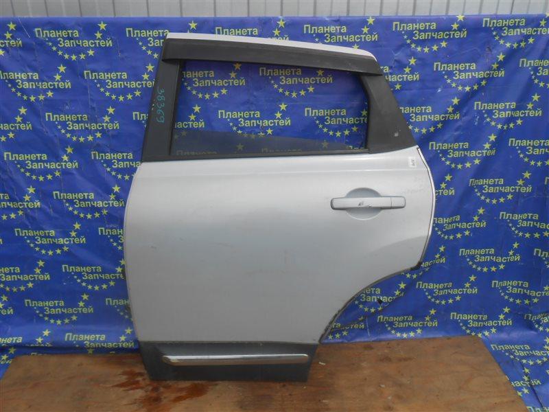 Дверь Nissan Qashqai NJ10 задняя левая (б/у)