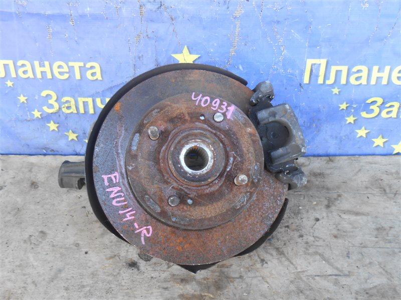 Ступица Nissan Bluebird ENU14 задняя правая (б/у)