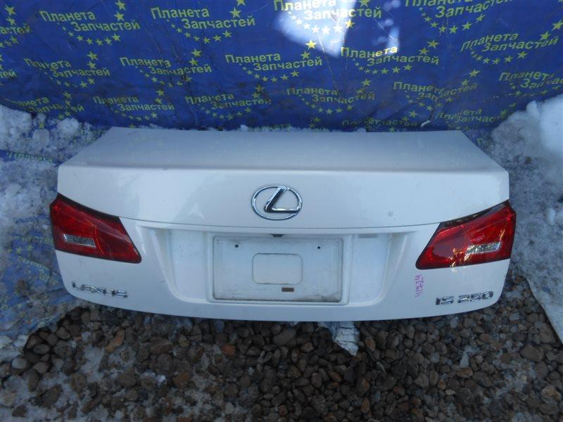 Крышка багажника Lexus Is250 GSE20 (б/у)