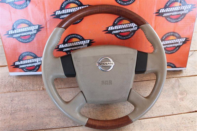 Руль с airbag Nissan Murano PNZ50 (б/у)