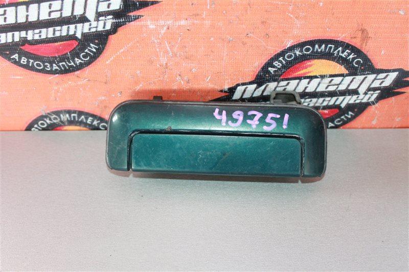 Ручка двери Mitsubishi Delica P35W передняя левая (б/у)