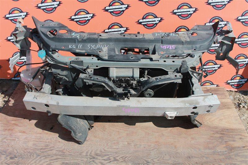 Радиатор кондиционера Nissan Bluebird Sylphy KG11 MR20 (б/у)