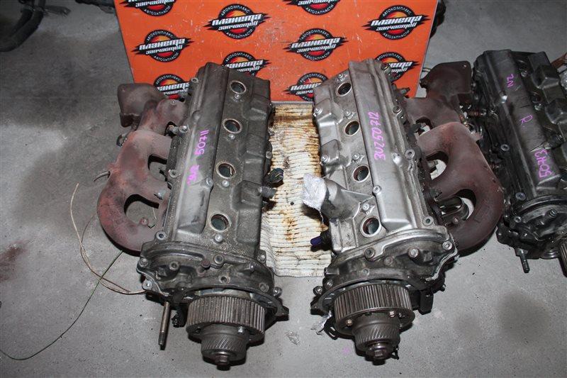 Головка блока цилиндров Toyota Celsior UCF31 3UZ левая (б/у)