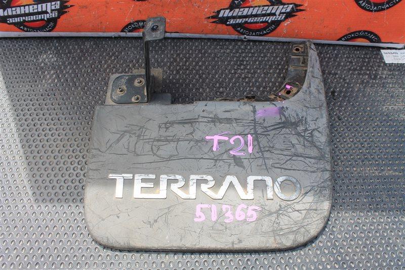 Брызговик Nissan Terrano T21 задний правый (б/у)