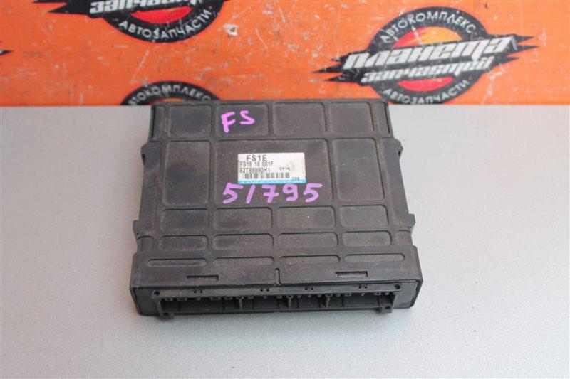Блок efi Mazda Mpv LWEW FS (б/у)