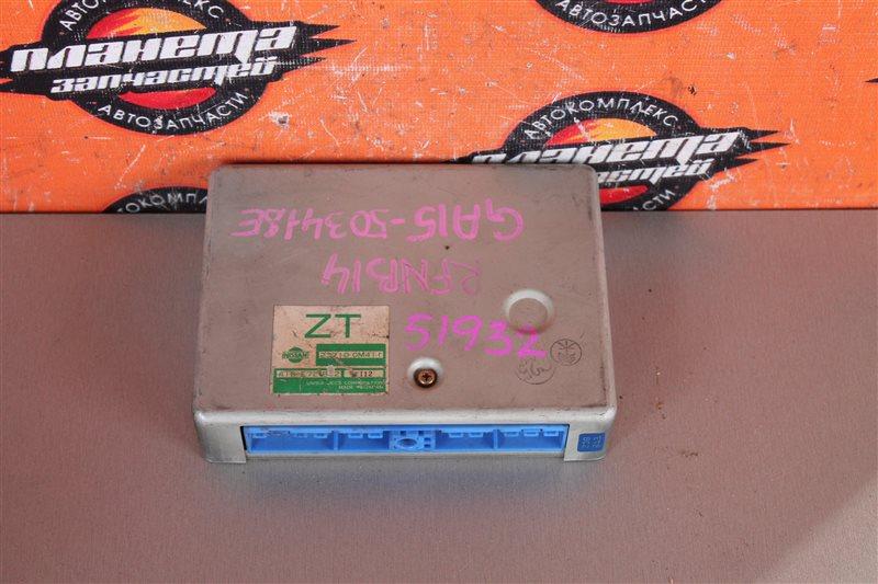 Блок efi Nissan Rasheen RFNB14 GA15 (б/у)
