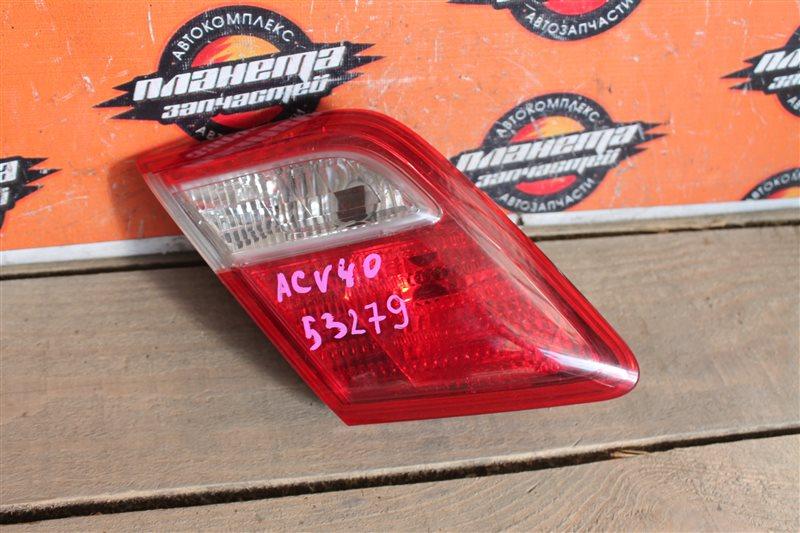 Стоп-вставка Toyota Camry ACV40 левая (б/у)