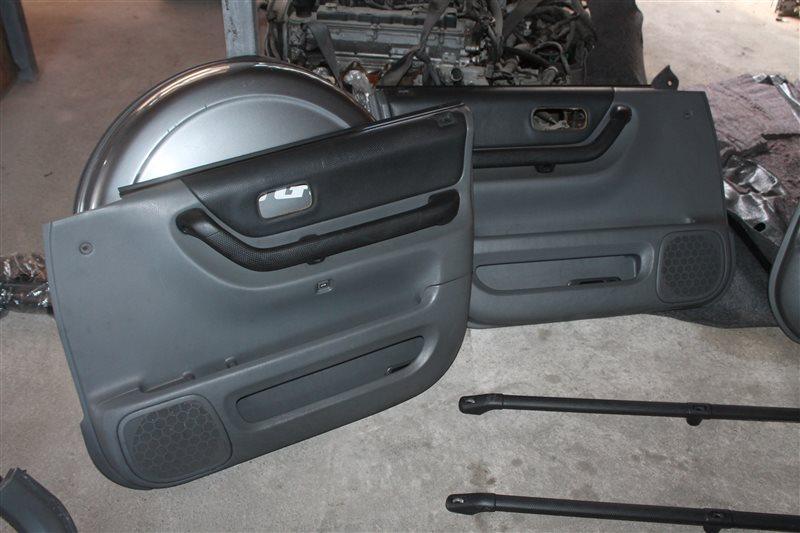 Обшивка двери Honda Cr-V RD1 задняя левая (б/у)