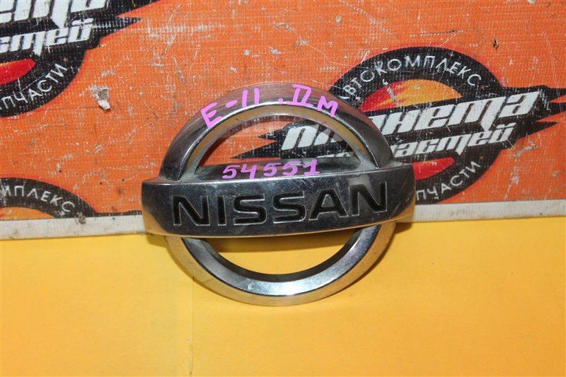 Эмблема Nissan Note E11 (б/у)