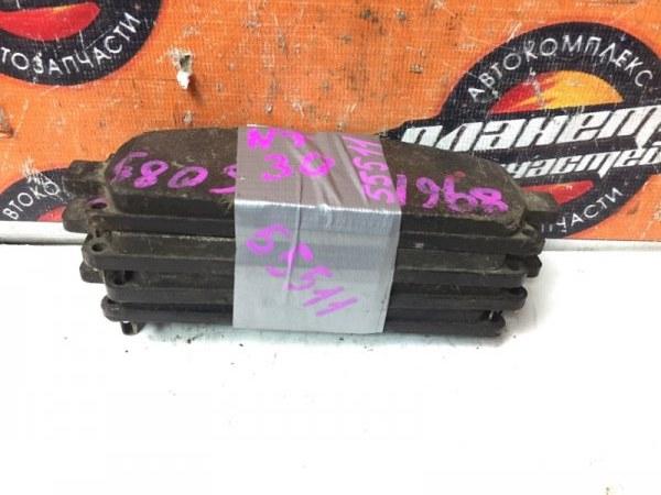 Тормозные колодки Nissan X-Trail NT30 QR20 переднее (б/у)