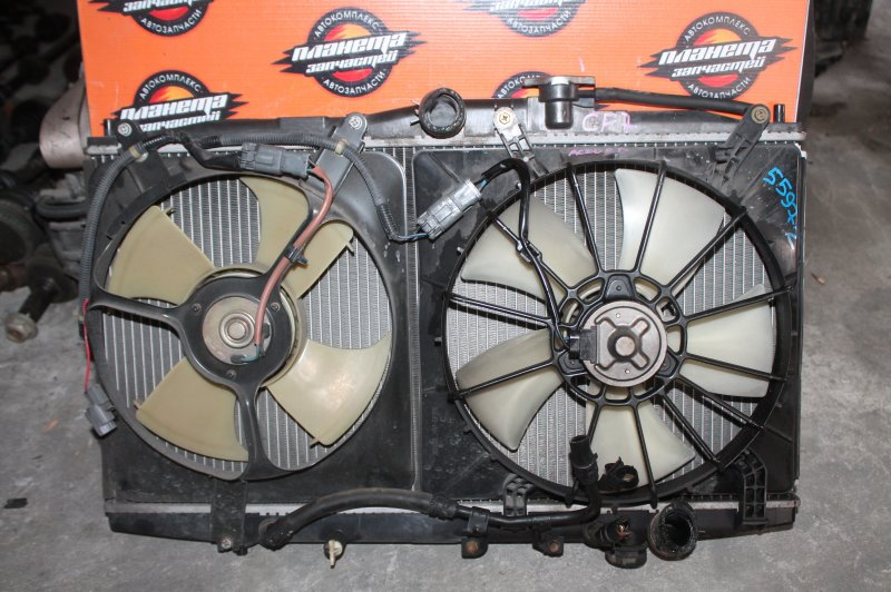 Радиатор основной Honda Torneo CF7 K20A (б/у)