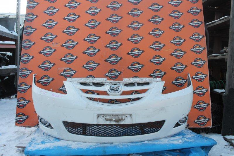 Бампер Mazda Mpv LW3W передний (б/у)