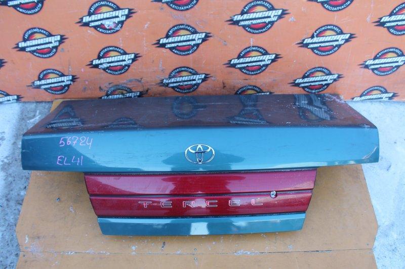 Крышка багажника Toyota Tercel EL41 задняя (б/у)