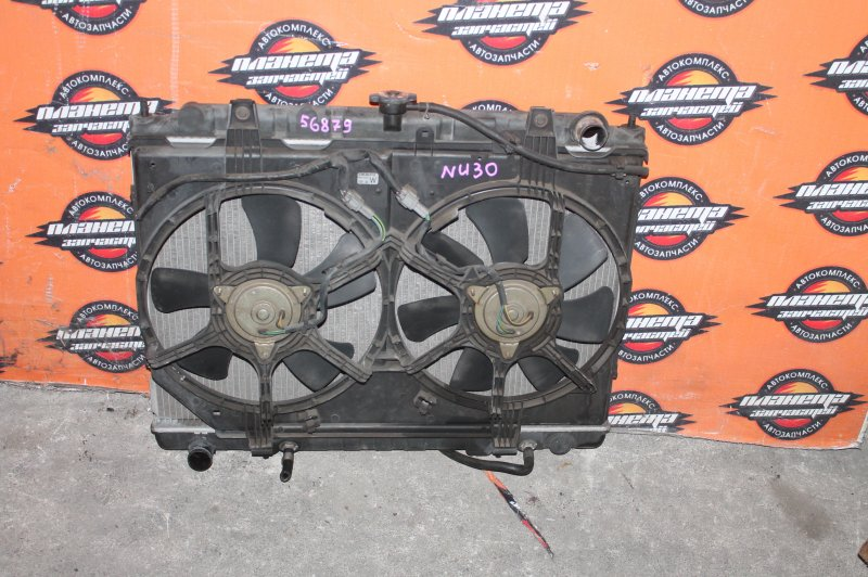 Радиатор основной Nissan Bassara NU30 KA24 (б/у)