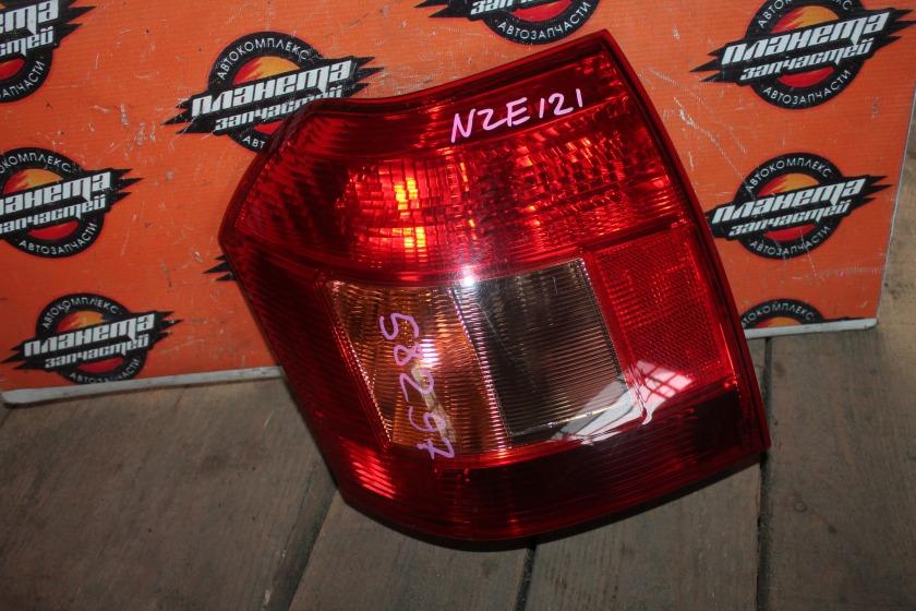 Стоп-сигнал Toyota Allex NZE121 задний левый (б/у)