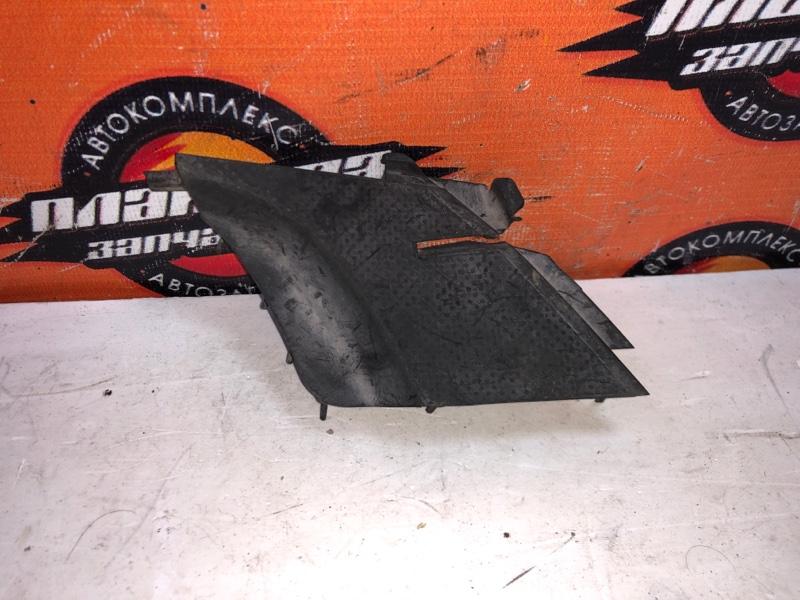 Уголок решетки под дворники Honda Fit GD1 передний левый (б/у)