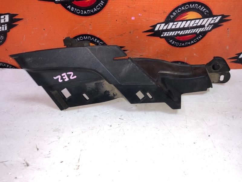 Уголок решетки под дворники Honda Insight ZE2 передний левый (б/у)