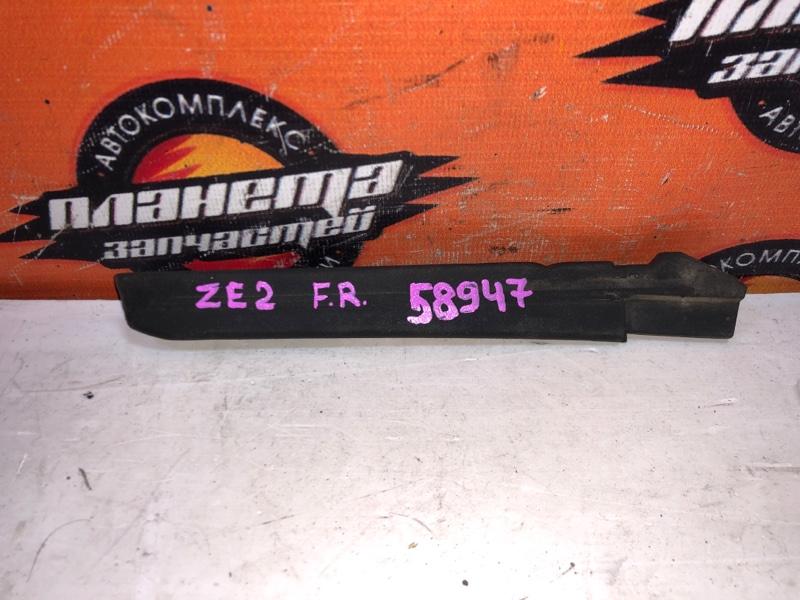 Уголок решетки под дворники Honda Insight ZE2 передний правый (б/у)