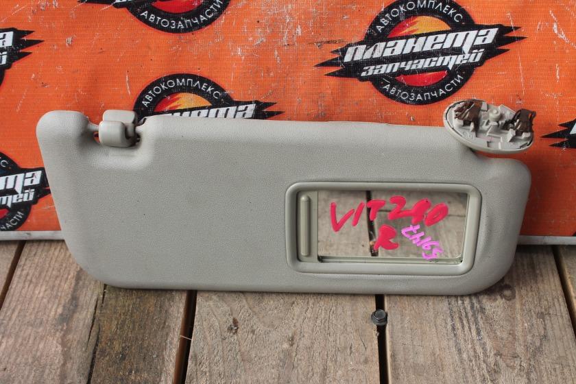 Козырек солнцезащитный Toyota Vitz KSP90 передний правый (б/у)