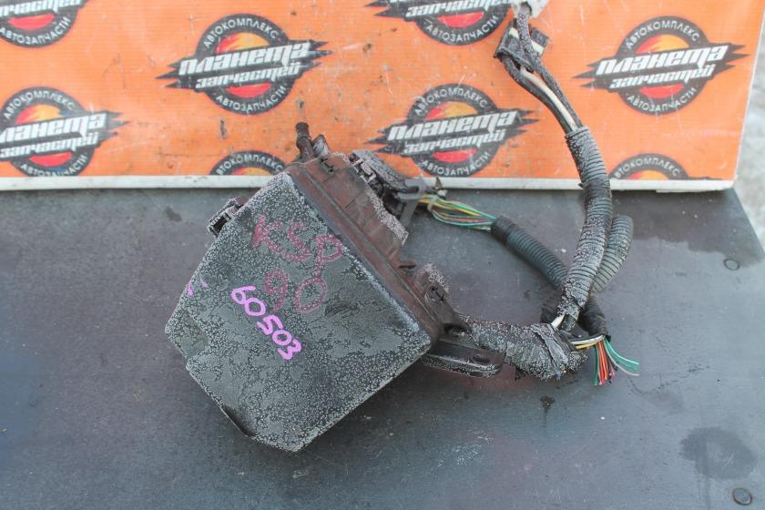 Блок предохранителей Toyota Vitz KSP90 1KR (б/у)