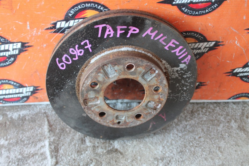 Диск тормозной Mazda Millenia TAFP KF передний (б/у)