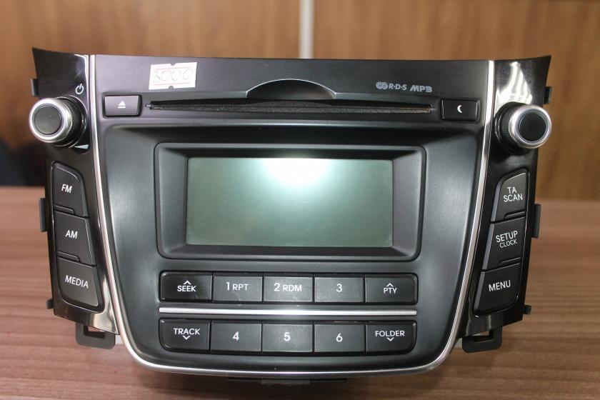 Магнитола Hyundai I30 GD G4FG 2012 (б/у)