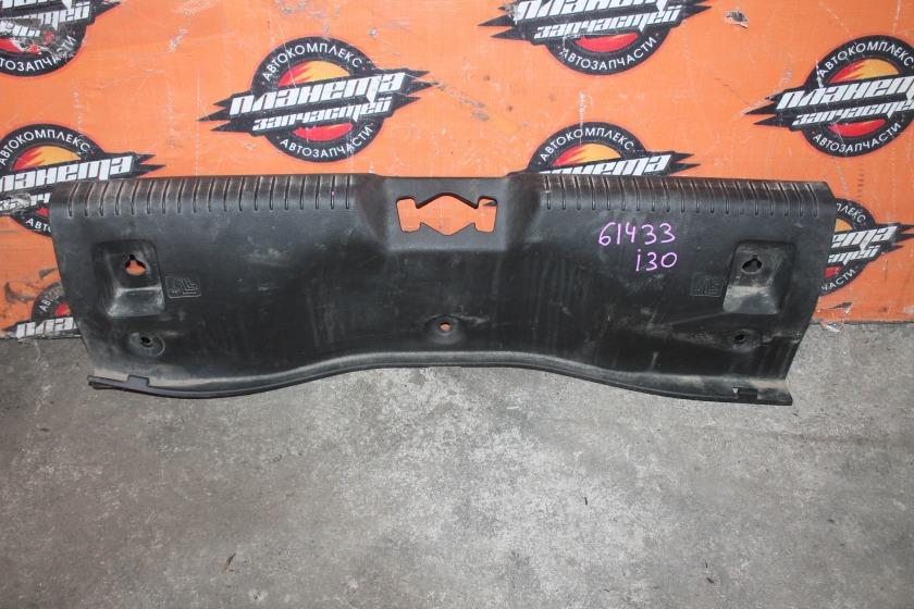 Пластик замка багажника Hyundai I30 GD G4FG 2012 задний (б/у)