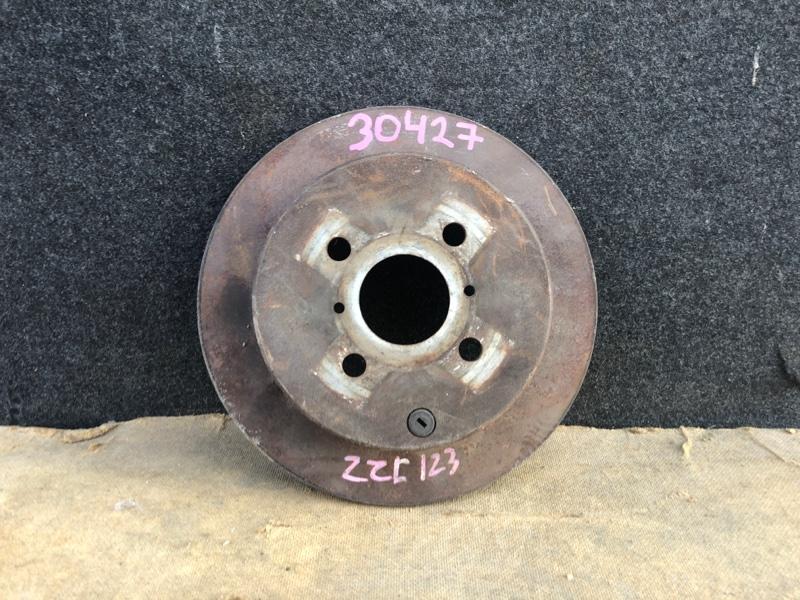 Диск тормозной Toyota Allex ZZE123 задний (б/у)
