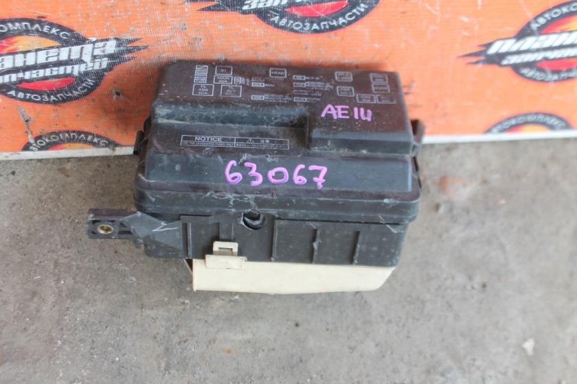 Блок предохранителей Toyota Sprinter Carib AE111 4A (б/у)