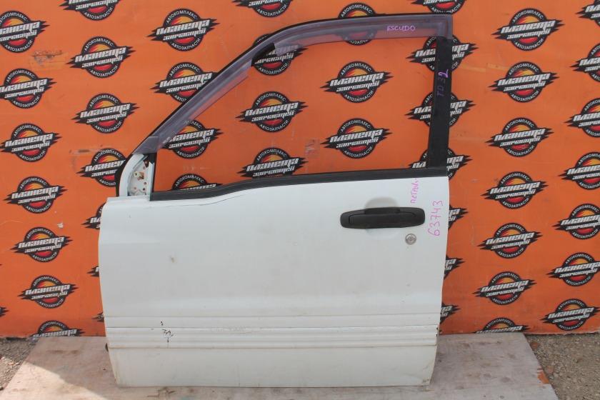 Дверь Suzuki Escudo TD32 передняя левая (б/у)