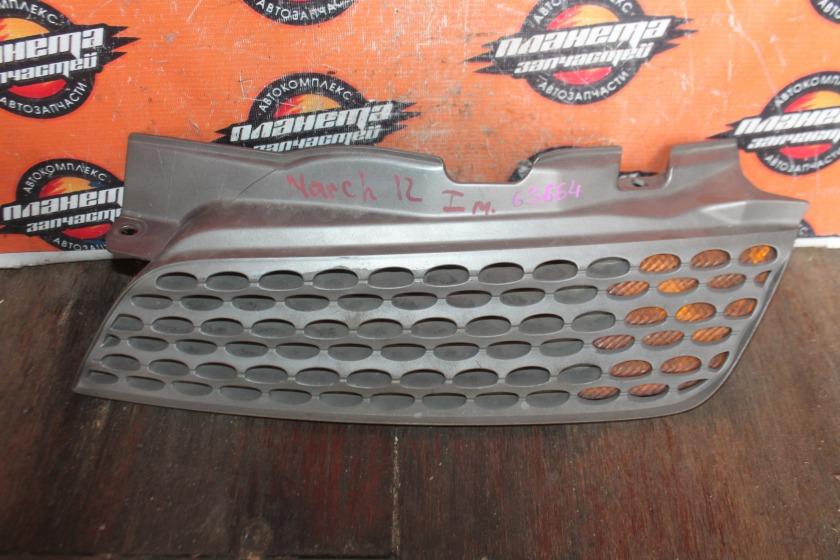 Решетка радиатора Nissan March AK12 левая (б/у)