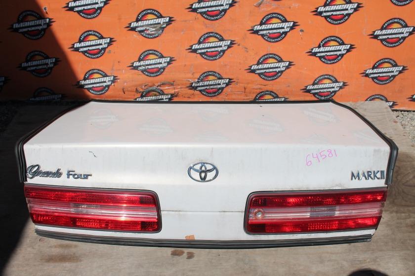 Крышка багажника Toyota Markii JZX100 задняя (б/у)