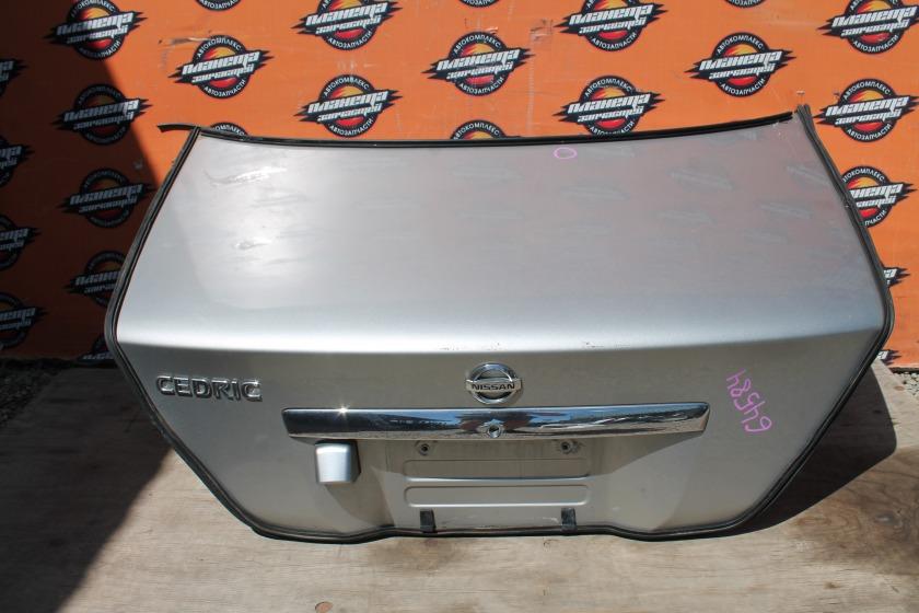 Крышка багажника Nissan Cedric HY34 задняя (б/у)