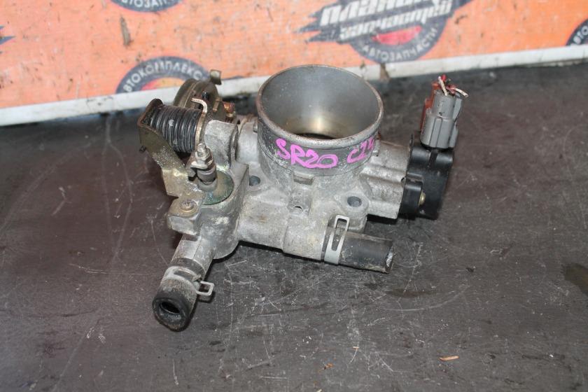Заслонка дроссельная Nissan Serena C24 SR20 (б/у)