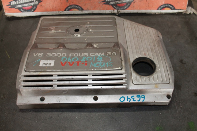 Крышка двигателя Toyota Harrier MCU15 1MZ (б/у)