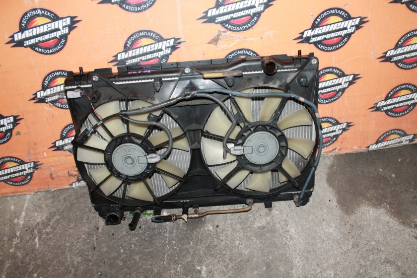 Радиатор основной Toyota Windom MCV30 1MZ (б/у)