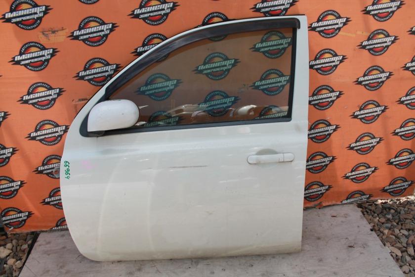 Дверь Nissan March AK12 передняя левая (б/у)