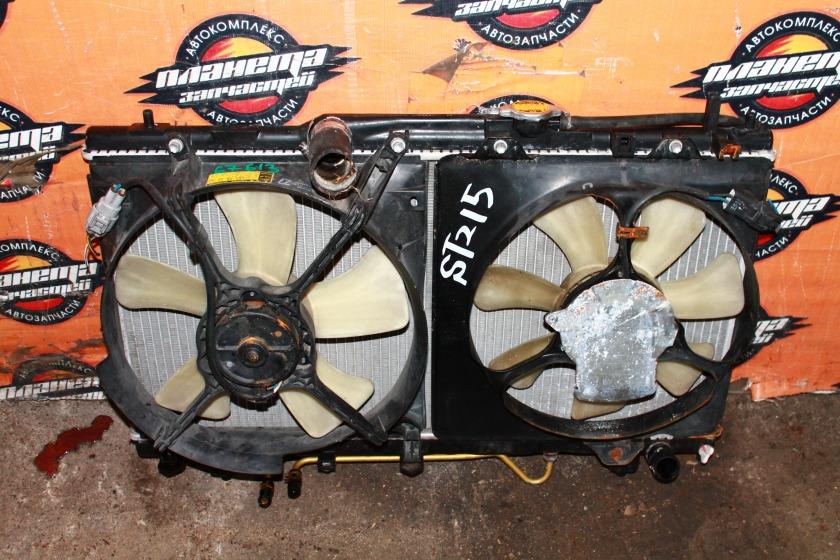 Радиатор основной Toyota Corona Premio ST215 3S (б/у)