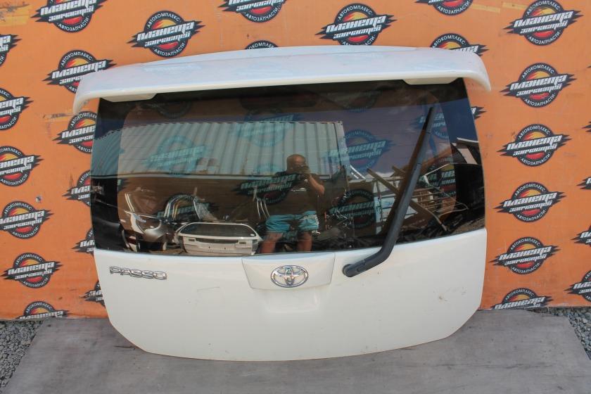 Дверь 5-я Toyota Passo KGC10 задняя (б/у)
