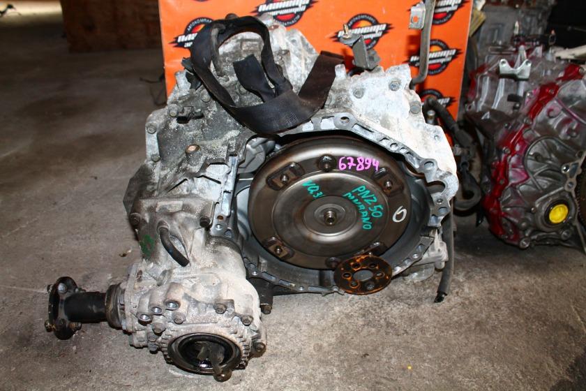 Акпп Nissan Murano PNZ50 VQ35 (б/у)